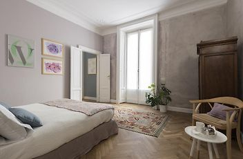 Großes Apartment Mit 1 Schlafzimmer